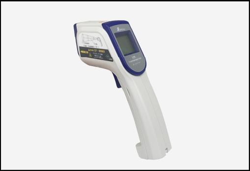 表面の温度を計測し遮熱性を調査する
