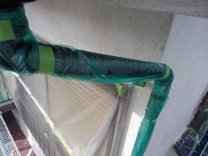 外壁塗装 養生2