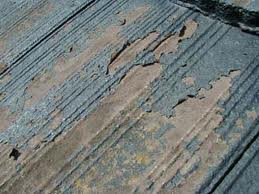 モニエル瓦の塗膜剥離