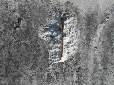 コンクリートの剥離